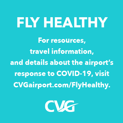Fly Healthy from CVG Airport . . . it's Lemony Fresh!