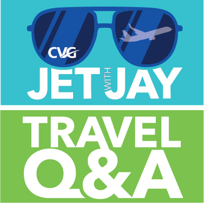 Jet with Jay Travel Q&A with CVG Airport - Answers to your Questions!