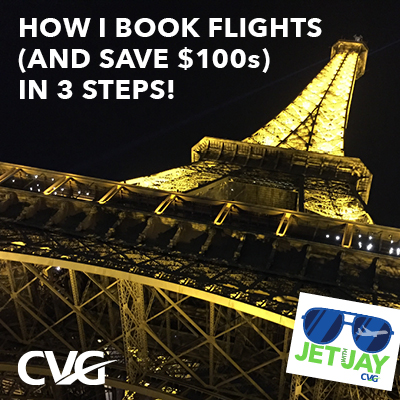 How I book a flight (and save hundreds of dollars) in 3 steps!